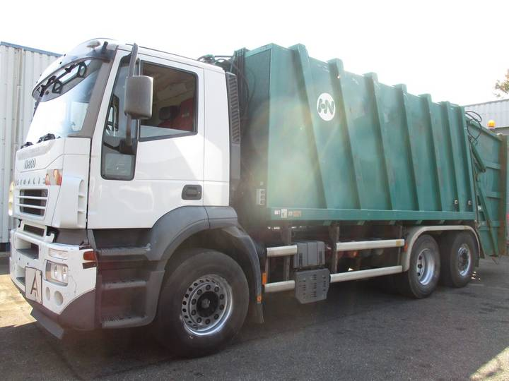 Iveco Stralis 300 , garbage truck , 6x2 , Airco , Automatic , G... - 2005