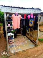 A shop that made of Container is up 4 sale