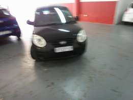 2008 Kia Picanto 1.4, Color Black, Prince R58,000.