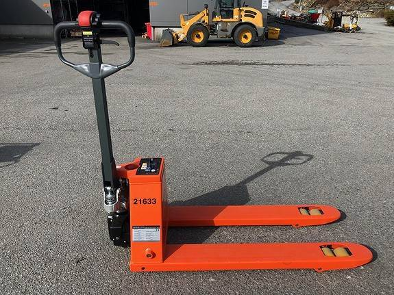 Palletralle 1500 Kg Elektrisk Drift - 2019