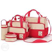 Quality Five Piece Diaper Bags