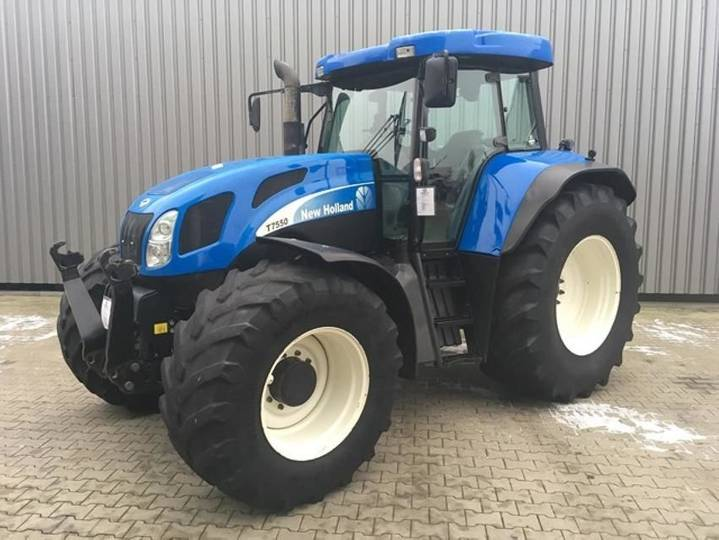 New Holland t 7550 - 2007
