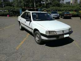 Peugeot 405 local 5 speed manual well maintained