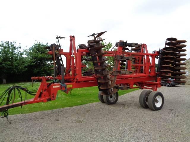 Quivogne Tinemaster 4m 7 Leg Subsoiler/cultivator - 2001