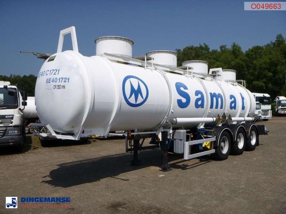 Magyar Chemical ACID tank inox 24.5 m3 / 1 comp - 1997