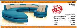 Semi-Circle Shaped Lounge Suite / Couch_from R9600