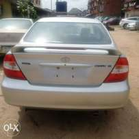 Tokunbo 2004 model toyota camry sport edition lagos cleared.