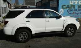 2007 Toyota fortunes 3.0 d4d in a good condition,