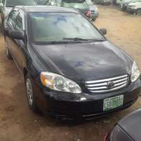 NIGERIAN USED Toyota Corolla, 2004. Buy & Drive. Very Ok No Issues.