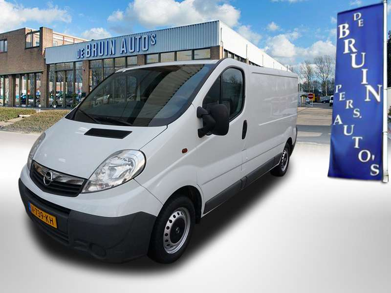 Opel Vivaro 2.0 CDTI 114Pk Lang L2 2 zitsbank - 2013