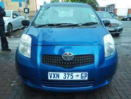 2007 Toyota Yaris 2doors in good condition for R 65000.00