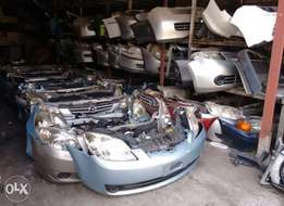 Japanese assorted car spares