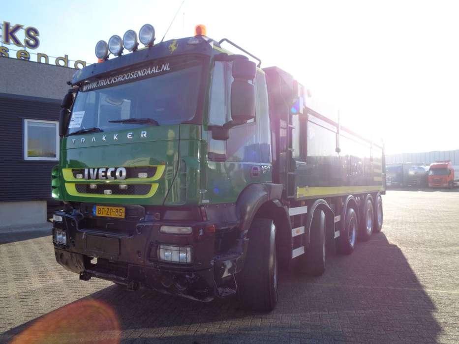 Iveco Trakker 450 + Euro 5 + KIPPER + PTO - 2008 - image 9