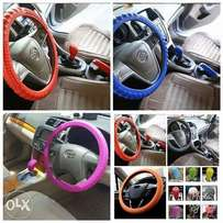 Silicon steering wheel cover