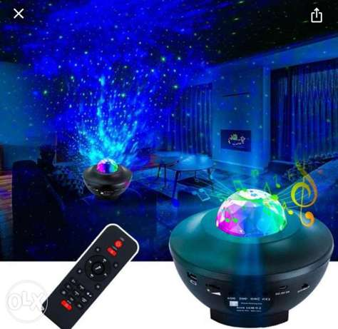 Galaxy Light with speaker BLUETOOTH and REMOTE