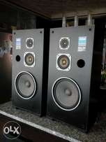 Yamaha three way speakers