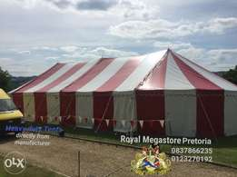 9m x 18m Peg and pole marquee tent sale