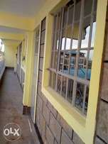New and spacious three bedroom flat of 7 to let in utawala 25k