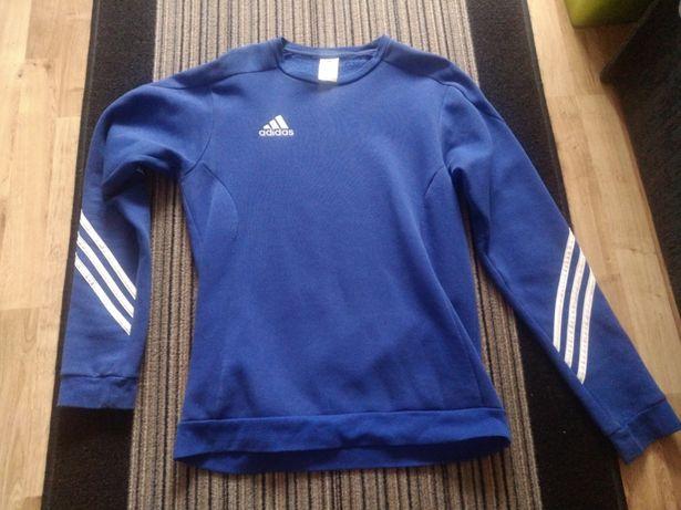 Bluza sportowa Adidas niebieska Tychy • OLX.pl