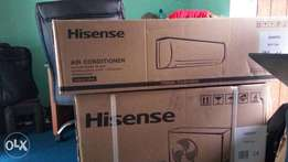 An affordable New and Unboxed Hisense 1.5Hp Split Unit Air Condition