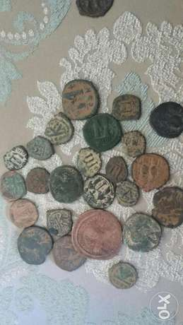 Ancient Byzantine Bronze Coins starting from year 300 A.D.