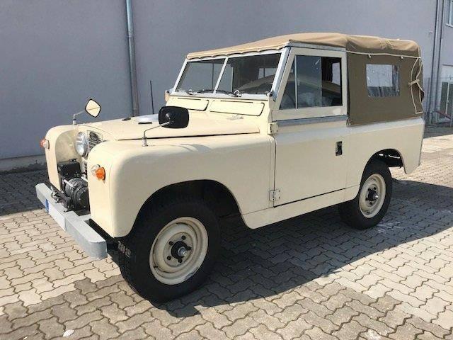 Rover land  land  lr 88 serie ii, 2.3 liter lhd land  lr 88 serie - 1961