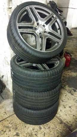 19 Inch Mercedes Rims and Tyres, 265/30R19. Bargain price. Johannesburg - image 5