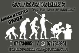 Winter specials on our PS3, PS4 & XBOX ONE games at GAMING4GEEKS.