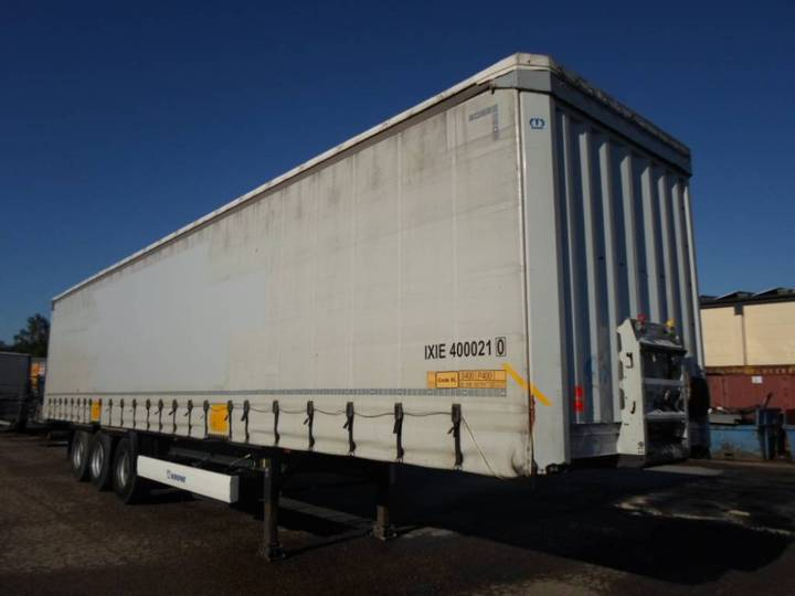 Krone Curtain - Coil - Huckepack - Lifting Roof - 2014