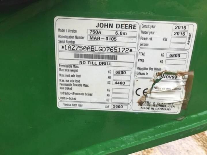 John Deere 750a - 2016 - image 4