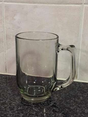 Large glass beer mug Pierre Van Ryneveld - image 1