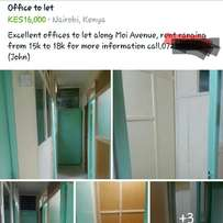 Executive 16k offices to let/ kimathi Nairobi