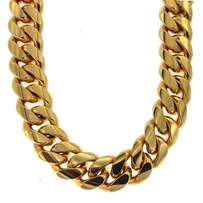 Gold stainles steel chain