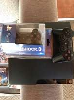 Ps3 console + 15 games + sealed remote