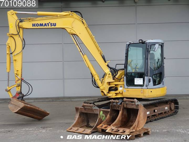 Komatsu PC78 MR-6 4 buckets - 2006