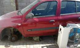 Renault Clio sold for stripping