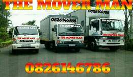 The mover man transport services, free quotes