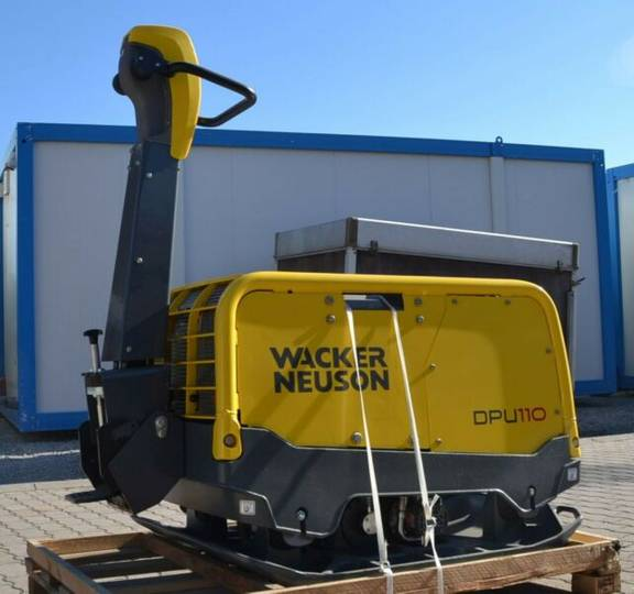 Wacker Neuson DPU 110 Lem870 Rüttelplatte - 2017