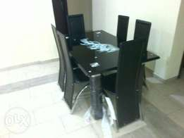 Glass 6seater Dining Table