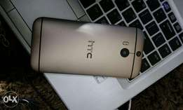HTC M8 golden 32gb only two months OLD