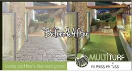 Multiturf Synthetic Lawn