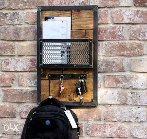 [ Industrial design - Wall Keys Holder / Tablet Sunglasses Holder ]
