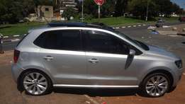 2013 model vw polo 6 1.4 Comfortline with sun/roof used cars for sale