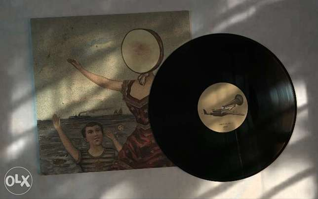 In the Aeroplane Over the Sea Album by Neutral Milk Hotel vinyl