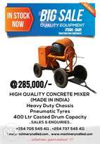Heavy duty Indian concrete mixers