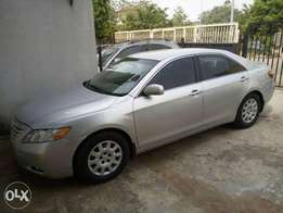 Silver Colour Toyota Camry saloon for sale.