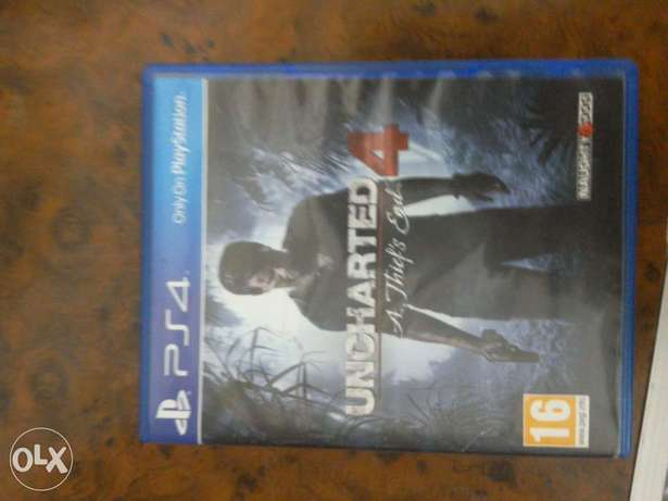 Uncharted 4 English for sale or trade