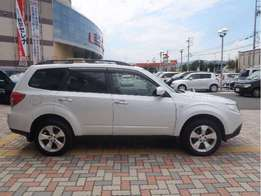 Subaru forester new shape 2010 moodel