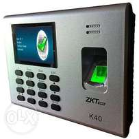 K40 Biometric Time Attendance Unit