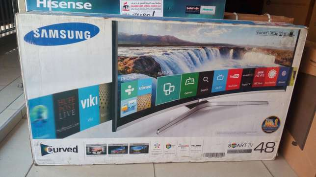 "Samsung 48"" smart curved TV series 6300 Nairobi CBD - image 2"